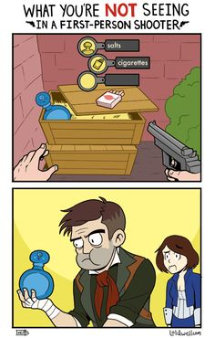 The Bioshock Infinite Appetite [Comic] - http://sometimesthingshappen.com/dang/the-bioshock-infinite-appetite-comic/