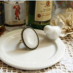 Western Retro Style Simple Oval Shape Finger Ring China Wholesale - Sammydress.com