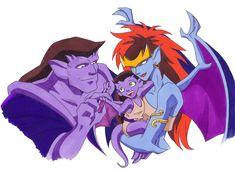 Goliath, Demona, & Angela (what if)