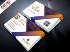 Free PSD : Real Estate Business Card Template PSD by PSD Freebies
