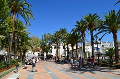 Visit Balcon de Europa, the focal point of Nerja, for a good view of the sea and to do some people watching while eating at one of the restaurants.