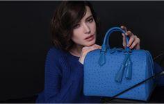 Beach Blue Boston Handbag by VH
