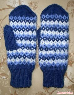Knitted Slippers, Knit Mittens, Mitten Gloves, Fair Isle Knitting Patterns, Projects To Try, Tapestry, Colours, Sewing, Crochet