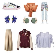 """""""April Must-Haves"""" by fabulously-fab on Polyvore featuring Oscar de la Renta, Marc Jacobs, Givenchy, GCDS, Caroline Constas, Sophia Webster and Spitfire"""