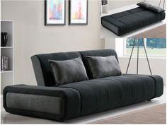 Opta por la simplicidad, la originalidad y la modernidad de este sofá cama 3 plazas de tela SOMNUS !