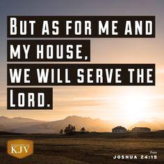 KJV Verse of the Day: Joshua 24:15