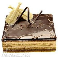 Cake Bars, Hungarian Recipes, Opera, Food And Drink, Cooking Recipes, Cook Books, Foods, Sweets, Cookies