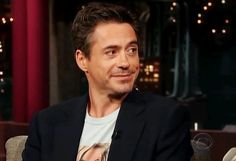 Your sexuality is irrelevant - he looks at everyone like that.  #RDJ