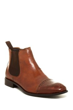 Sergio Cap Toe Chelsea Boot by Vince Camuto on @nordstrom_rack