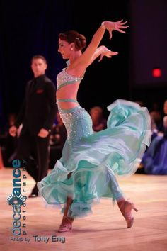 Dancing w//the Stars RD#3 dress//top salsa Ballroom latin Randall Design Black