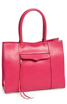 Fuschia Tote for Fall