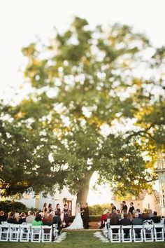 romantic tree ceremony (credit: Barr Mansion & Artisan Ballroom)