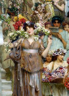 Princesa Nadie: Alma-Tadema