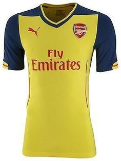 a0bf74f52 PUMA ARSENAL AWAY JERSEY 2014 15 AFC Away Jersey  Where victory comes  through harmony