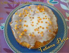 TORTA GLASSATA ALLO YOGURT ANANAS E MELONE ~ Le Mille e una Torta di Dany e Lory ♥