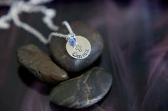 PinItSALE  Handstamped Personalized Confirmation by DistinctlyIvy, $10.98