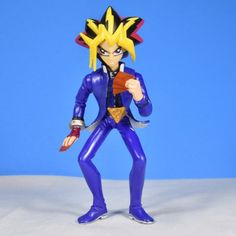 Yami Yugi Yu Gi Oh 1996 PVC Approximately 5.75 inches tall