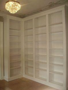 individuell gestaltetes b cherregal bibliothek wandregal regalsystem stufenregal. Black Bedroom Furniture Sets. Home Design Ideas