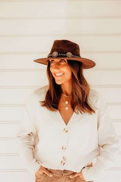 Check out our new releases! #ahm #americanhatmakers Outdoor Hats, Cowboy Hats, Check, American, Style, Fashion, Swag, Moda, Fashion Styles