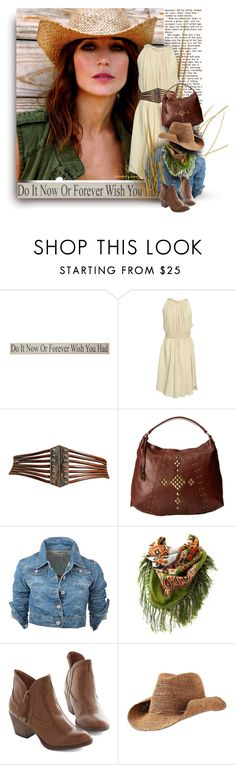 """""""Country Summer"""" by trendsbybren ❤ liked on Polyvore featuring Bernardo, Étoile Isabel Marant, Alaïa, Lucky Brand, Athleta, country, casualoutfit, denimjacket, anklebooties and whitedress"""