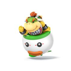 Bowser Jr., from Super Mario