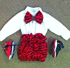 """Kiddie Kouture"" #Red #Zebra #LouisVuitton #Bow #Jordan Trill Fashion, Dope Fashion, Modern Fashion, Kids Fashion, Baby Swag, Girl Swag, Adorable Babies, Cute Kids, Baby Outfits"