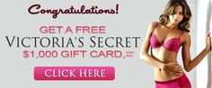 got 2 freee victoria secret gift cards (on different names haha.......... @nicki hussain @Pierre Demesmaeker