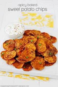 ... Baked Sweet Potato Chips, Rosemary Potatoes and Twice Baked Sweet