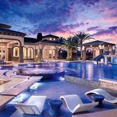 41 New Step By Step Roadmap For House Goals Mansions Dream Homes Luxury 18 – Dec… - Traumhaus Luxury Swimming Pools, Luxury Pools, Dream Pools, Swimming Pool Designs, Dream Home Design, House Design, Dream Mansion, Mansion Interior, Luxury Homes Dream Houses
