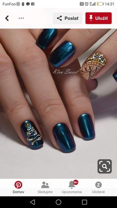 Coolest Snow Tattoos Winter Design that You Must Know . Coolest Snow Tattoos Winter Design that You Must Know . Pin by Affordably Chic Boutique On Nailed It In 2019 Xmas Nails, New Year's Nails, Holiday Nails, Christmas Nails, Cute Acrylic Nail Designs, Gel Nail Designs, Cute Acrylic Nails, Cute Nails, Stylish Nails