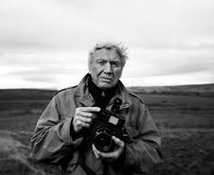"""gettyimagesarchive: """" Don McCullin photographed by Tom Stoddart, November Photographer Don McCullin photographed at dawn near Hadrian's Wall in Northumberland. McCullin is internationally known. Documentary Photographers, Great Photographers, War Photography, Artistic Photography, Still Life Images, Documentaries, Landscape, November, Dawn"""