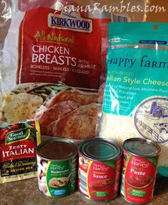 italian chicken recipe ingredients