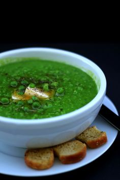 Pea Soup by my-lifeboxblog: 30 minutes #Soup #Pea