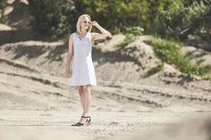 SICILIA DRESS #monikakaminska #siciliadress #dress #summerdress #summerlook #cotton #cottondress #openback #outfit #ootd #streetstyle #backless #basic #details