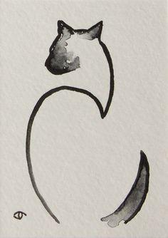 Siamese Cat by Jennifer Thangavelu
