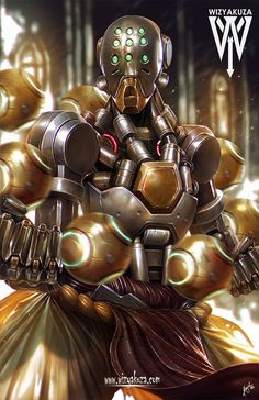 My favourite hero from overwatch Blade Runner, King's Quest, Overwatch Zenyatta, Overwatch Wallpapers, Heroes Of The Storm, Overwatch Fan Art, Starcraft, Fantastic Art, Awesome