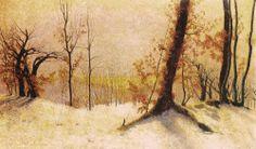 dekehlmark:  Vittore Grubicy de Dragon (1851-1920), Poema panteista -1894/1911