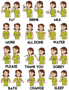 baby sign language - Google Search by pathkelly