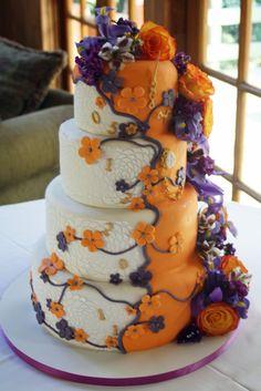 Time Travel Wedding Themed Wedding Cake