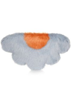 Shrimps | Daisy faux fur clutch | NET-A-PORTER.COM