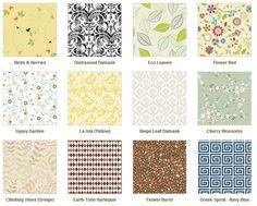 Chic Shelf Paper - FINALLY, not-ugly shelf paper. Many, Many designs