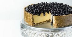 Impress your guests with this blueberry cheesecake recipe that's completely dairy-free!