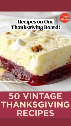 Vintage Thanksgiving, Thanksgiving Side Dishes, Thanksgiving Desserts, Fall Recipes, Holiday Recipes, Holiday Meals, Pumpkin Recipes, Tandoori Masala, Vintage Recipes