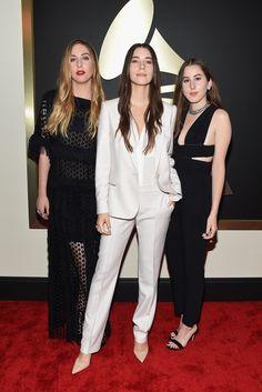Este Haim, Danielle Haim, and Alana Haim. The 2015 Grammy Awards - Gallery - Style.com