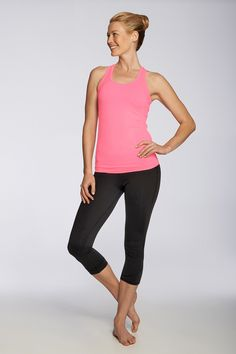 Love - Fabletics.  This is the kind of outfit I would wear to work out in and around town.  Looks very comfy