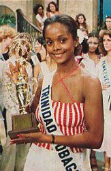 First Black Woman to win Miss Universe 1977 - Janelle 'Penny' Commissiong