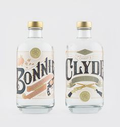 Bonnie & Clyde: 2 high-end, Belgian Gins. Limited edition.