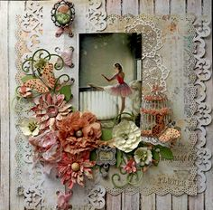 Layout: Shadow & Light **SCRAPS OF ELEGANCE** May Kit-Yesterdays