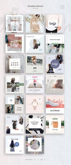 eCommerce Social Media Kit by Evatheme Market on @creativemarket