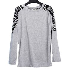 Love the animal print with the color gray